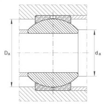 FAG Germany Radial spherical plain bearings - GE8-PB