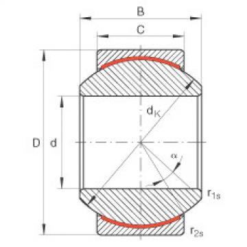 FAG Germany Radial spherical plain bearings - GE8-PW