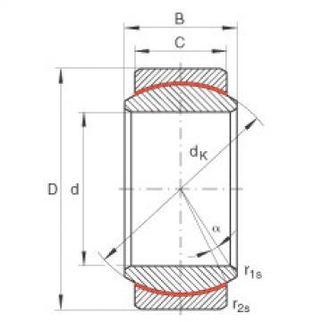 FAG Germany Radial spherical plain bearings - GE12-UK