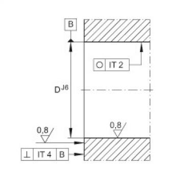 FAG Germany Angular contact ball bearing units - ZKLFA1050-2Z