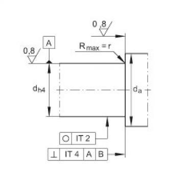 FAG Germany Angular contact ball bearing units - ZKLFA0850-2RS