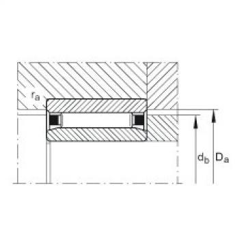 FAG Germany Needle roller bearings - NAO12X24X13-XL