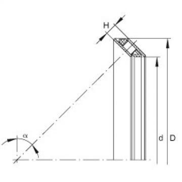 FAG Germany Axial angular contact roller bearings - AXS1220