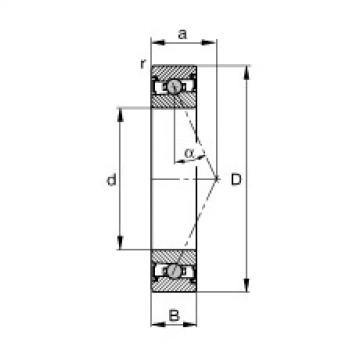 FAG Germany Spindle bearings - HCS71901-E-T-P4S