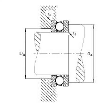FAG Germany Axial deep groove ball bearings - 51101