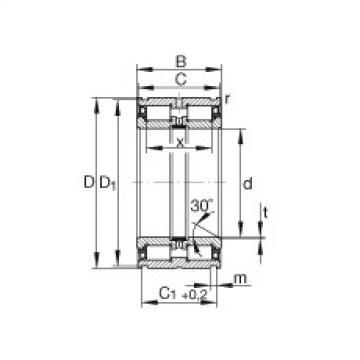 FAG Germany Cylindrical roller bearings - SL045036-PP