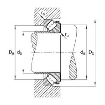 FAG Germany Axial spherical roller bearings - 29434-E1-XL