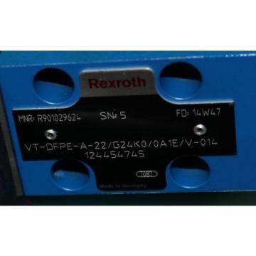 Rexroth, VT-DFPE-A-22/G24K0/0A1E/V-014, R901029624, Hydraulic Proportional Servo