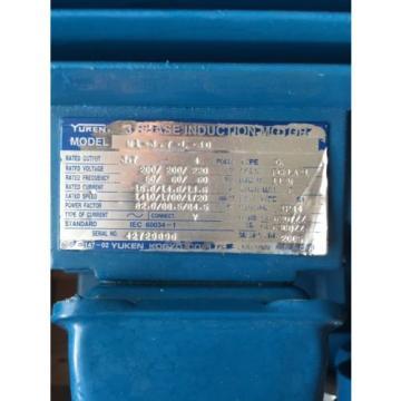 YUKEN U-307021 Doppel Hydraulik Pumpe + Motor + Tank
