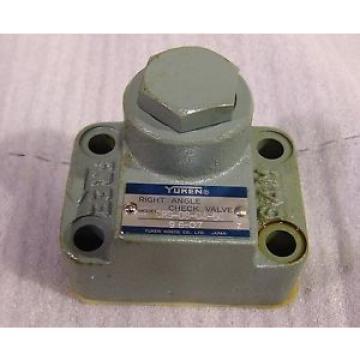 Hydraulic valve Yuken CRG-03-04 right angle