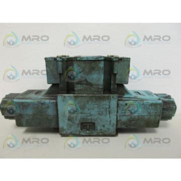 YUKEN DSG-01-3C4-A100-40 DIRECTIONAL VALVE *USED*
