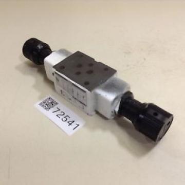 Yuken Throttle & Check Modular Valve MSW-01-X-50 Used #72541
