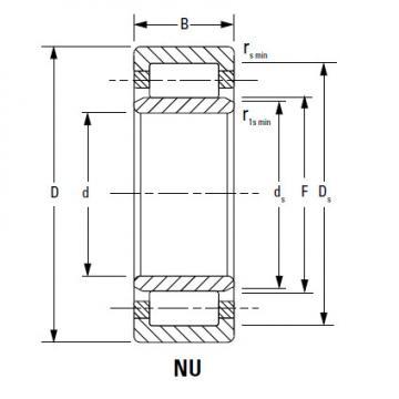 Bearing NU340EMA