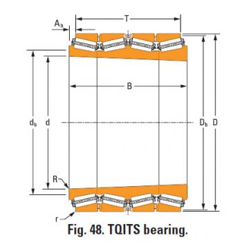 Bearing lm533730T lm533710d double cup