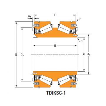 nP738398 nP869543 TDIK Thrust Tapered Roller Bearings