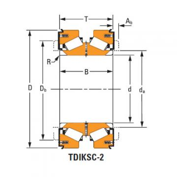 H228643dw H228610 TDIK Thrust Tapered Roller Bearings