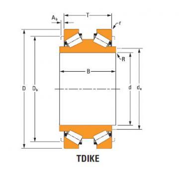 ee181454dw 182350 TDIK Thrust Tapered Roller Bearings
