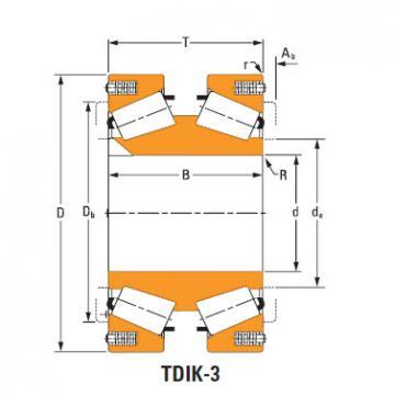 81577dw 81962 TDIK Thrust Tapered Roller Bearings