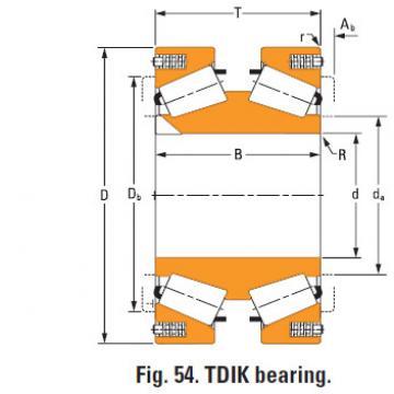 nP430670 nP786311 TDIK Thrust Tapered Roller Bearings
