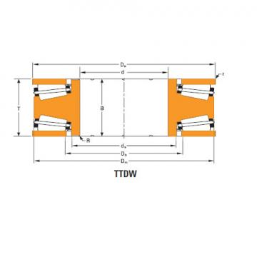Bearing Thrust race single T660fa