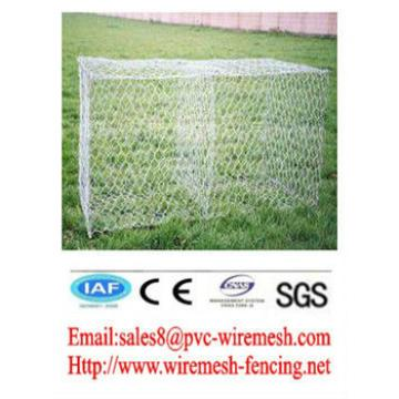 Alibaba China wholesale CE&ISO certificated hot galvanized+pvc coated gabion box(pro manufacturer)