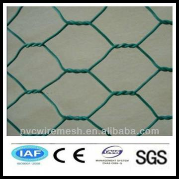 alibaba China wholesale CE&ISO certificated galvanized and pvc coate hexagonal wire mesh(pro manufacturer)