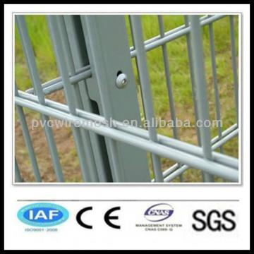 wholesale Powder Coated CE&ISO certificated Double Wire Fence(professional manufacturer)