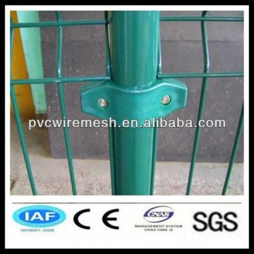 PVC coated/ Galvanized Double wire mesh fence
