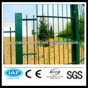 Double circle fencing wire mesh/PVC coated Double wire mesh fence