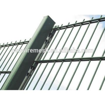 wholesale Powder Coated CE&ISO certificated Double Wire Fencing (professional manufacturer)