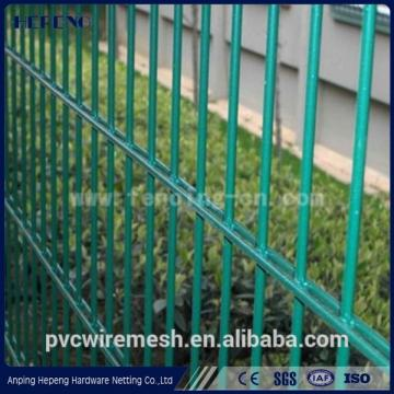 Gold supply double wire mesh fence/double fence ISO 9001
