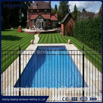 PE coated Swiming pool fence