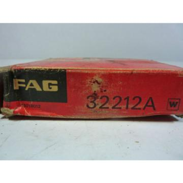 Fag 32212A Tapered Roller Bearing ! NEW !