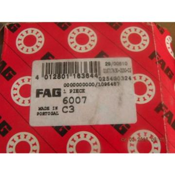 NEW FAG 6007 C3 bearing