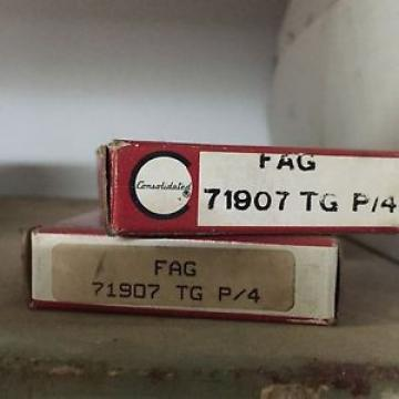 FAG 71907 TG P4 SUPER PRECISION BEARING