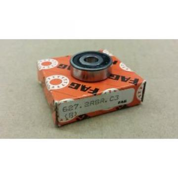627-2RSR C3 FAG New Single Row Ball Bearing