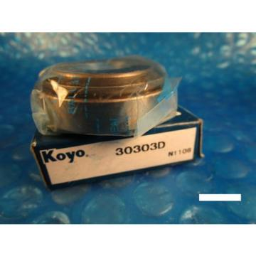 KOYO Cone and Bearing Set 30303D, 30303 D (=2 FAG, SKF, NSK, NTN 4T, SNR)