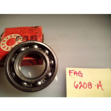 FAG 6208A SINGLE ROW BALL BEARING