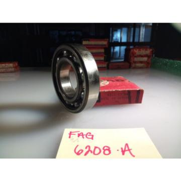 FAG 6208A SINGLE ROW BALL BEARING