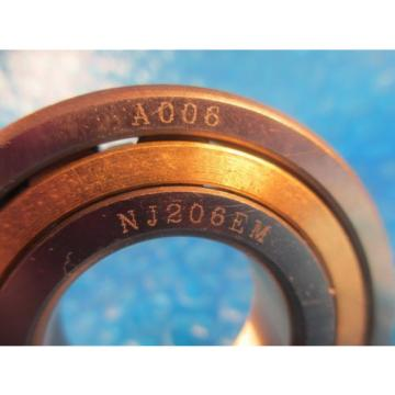 HBC NJ206 EM, NJ 206 EM, Single Row Cylindrical Roller Bearing (see SKF and FAG)