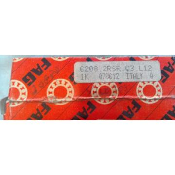 6208-2RSR FAG Bearing (BRG 6208J) FREE SHIPPING