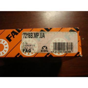 FAG, Angular Contact Bearing, 80mm x 140mm x 26mm, USA, 7216B.MP.UA /8366eFE2