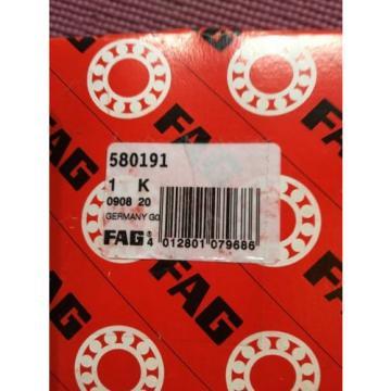 580191 FAG New Angular Contact Ball Bearing For BMW