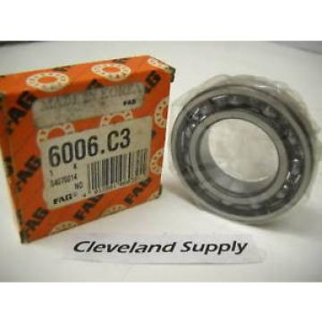 FAG 6006.C3 RADIAL DEEP GROOVE BALL BEARING NEW IN BOX