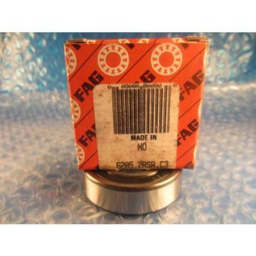 FAG  6205 2RSR C3, 2RS Bearing (=2 SKF 6205 2RS, NSK, Fafnir 205PP)