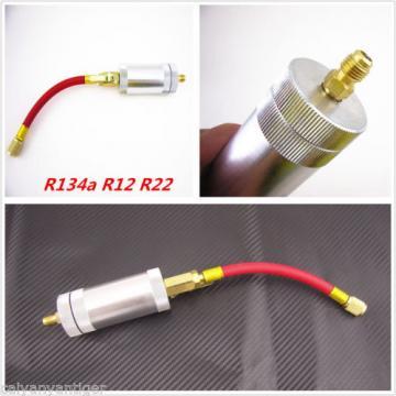 R134a R12 R22 Car Truck A/C Oil&Dye Liquid Filling Cylinder Injector Tube Tool