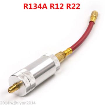 R134A Refrigeration Air Conditioning AC Oil Liquid Filling Injector Tube R12 R22