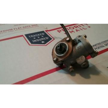 suzuki shuttle fa50 1985 oil pump injector