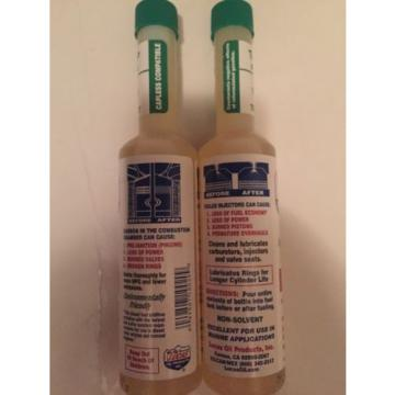 Lucas Oil Lot (2) Fuel Additive; Upper Cylinder Lubricant And Injector Cleaner