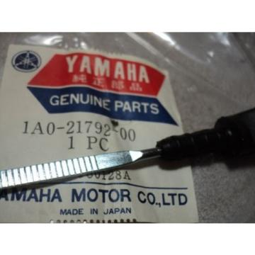 1970-78 YAMAHA R5 RD DS7 350 400 INJECTOR OIL LEVEL DIPSTICK NOS OEM # 1A0-21792